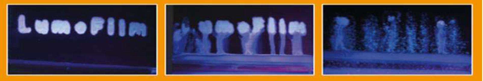 Aufnahmen von Fluoreszenzmarker, der die Qualitätssicherung erleichtert
